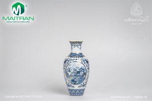 Bình hoa gốm sứ Minh Long Hồn Việt 30cm