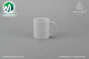 Ca gốm sứ Minh Long Jasmine trắng 0.36L