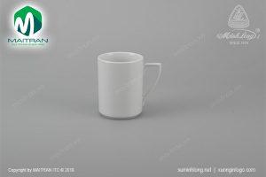 Ca gốm sứ Minh Long số 7 trắng 0.33L