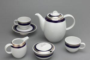 Bộ trà gốm sứ Minh Long Sago Thiên Tuế Xanh 1.3L