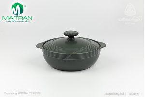 Nồi sứ dưỡng sinh hai quai 1.1L Minh Long