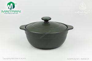 Nồi sứ dưỡng sinh hai quai 1.9L Minh Long