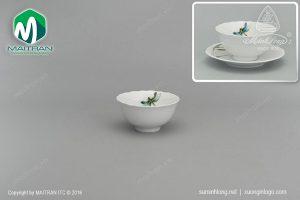 chén cơm gốm sứ minh long 11.5 cm thanh trúc